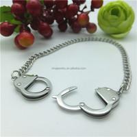 La Preciosa Stainless Steel Handcuff Bracelet