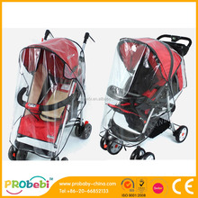 Retail baby stroller rain cover for export