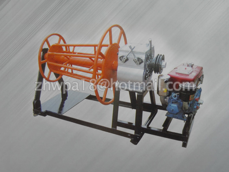 cable pulling machine