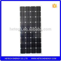import solar panels monocrystalline price per watt solar panel 135w with high efficient