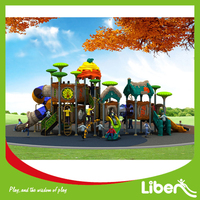 LLDPE Material Type Plastic Outdoor Play Equipment, Kids Outdoor Playsets