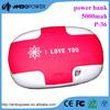 low price cheap 4000mah portable mobile power bank