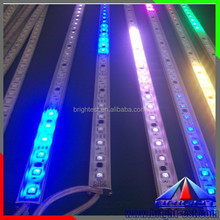 Addressable DMX Led Digital Bar, decorate RGB led rigid strip bar, aluminum led strip bar