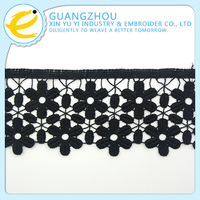 Free sample wholesale chemical mini floral lace