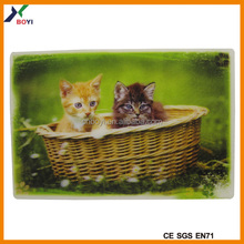 Hot Selling 3D Pictures Posters Lenticular Art Picture Print Wall Decor Cute Animal Poster