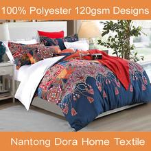 luxury bedding set nantong hometextiles buyer for bed sheet