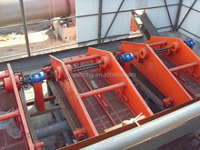 linear dewatering screen plant for coal making line