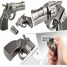 Metal gun shape usb flash drive with 1GB 2GB 4GB 8GB16GB 32GB 64GB