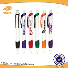 2015 good selling eco-friendly logo ballpoint pen