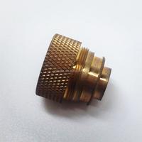 Precision custom brass cnc work, job work for cnc