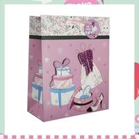 Yiwu Yina stock wholesale handbag shape paper gift bag