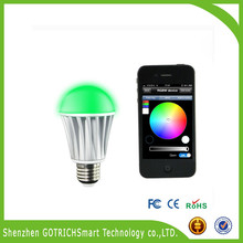 New style Touch Screen Remote Control RGB LED wifi Bulb