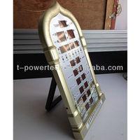 Digital mosque prayer clock for muslim prayer