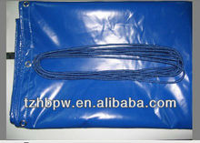 Tailor Made PVC Tarps with Eyelet and Rope