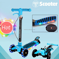Hot selling low price china supplier light up children pro kick scooters