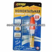 3g Super Glue in tube packing super glue adhesive for shoes