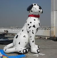 giant promotion inflatable Dalmatian dog balloon with good quality N2052
