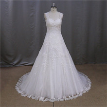 New Short Appliqued party time wedding dresses