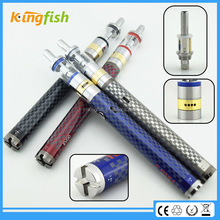 kingfish product 1.5ohm atomizer evod twist 3 m16 button less vaporizer with factory price
