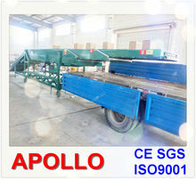 truck loading and unloading telescopic belt conveyor