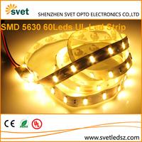 UL Listed SMD 5630 4000k Warm White Led Conceal Strip Light Video 60 Leds 5M 300 Leds IP65 Waterproof Optional