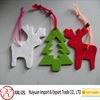 2014 Lovely red Christmas felt reindeer for promotion gift