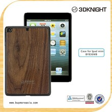 2015 new products wood marble hard cover for iPad Mini 2/3