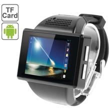 2.0 inch Android 4.1.1 Smart Watch Phone, MTK6515M 1.0GHz, RAM: 512MB, ROM: 4GB