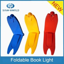 HOT product 1 super bright led battery operated mini clip book reading led light