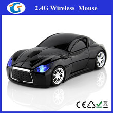 New type for 2.4GHZ wireless car mouse
