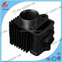 Cylinder Block Motorcycle Spare Parts For C90 Motorcycle Engine Parts