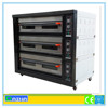 automatic bakery machine, electric deck oven for bread, biscuit baking machine
