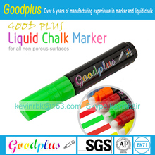liquid chalk marker pen-10mm nib 8 pack-wholesale price promotional pen from China