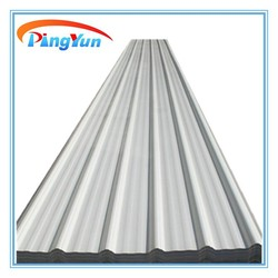 Plastic roofing materials/corrugated plastic sheet/pvc sheet for roofing effect