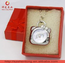 watch necklace fashion jewelry with gift box-OEM&ODM