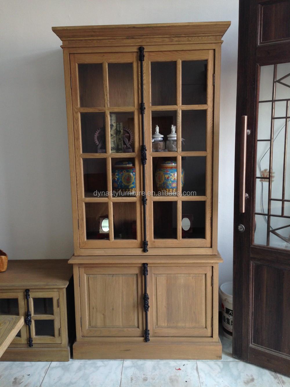 Vintaged rustieke meubels keuken meubelen teruggewonnen hout kast keukenmeubelen product id - Keukenmeubelen rustiek ...