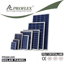 A grade high efficiency cheap price 250W-300W poly solar panel in stock for solar system solar home