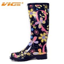 Botas de goma para, pintado a mano botas de goma, venta al por mayor zapatos de diseño