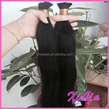 Wholesale price Virgin Human Hair Totally Unprocessed mongolian braiding bulk hair