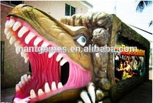 Amazing mould house,dinosaur cabin 5D cinema simulator game 7d theater hot sale