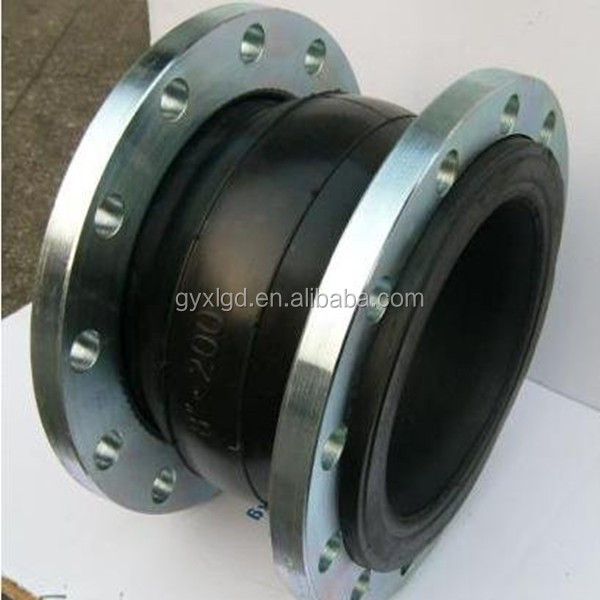 Flanged jgd flexible rubber coupling expansion joint pipe