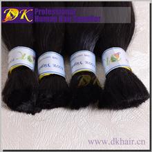 DK Unprocessed virgin Hair Industries wholesale cheap 100%human indian hair bulk