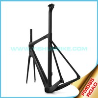Super light!! Yishunbike 700C carbon fiber bike frame BB86/PF30 carbon road frame full carbon bicycle frame china FM095