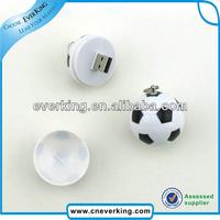 promotioanl 2014 world cup soccer ball usb flash drive