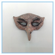 Environmentally friendly materials latex mask horror witch head masks
