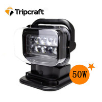 50W led truck work light remote control search light