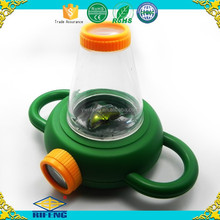 New design insect viewer magnifier use plastic magnifying lens, magnifying glass toy for child