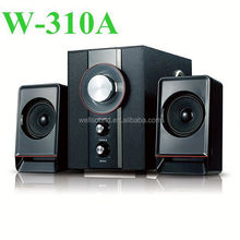 2.1 computer subwoofer with USB/SD/FM Function