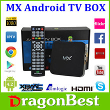 MX box Quad Core Smart TV Box Android box support facebook youtube