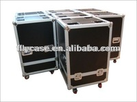 Aluminum trolley pilot case/wheeled aluminum trolley case